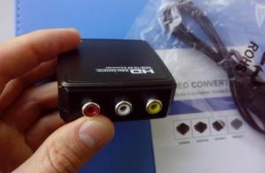 конвертер из HDMI в AV (RCA, тюльпан)