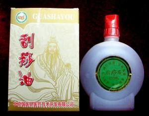 Красное масло для массажа Гуа Ша купить в Днепропетровске
